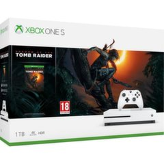 Mängukonsool Microsoft Xbox One S 1TB + Rise of Tomb Raider