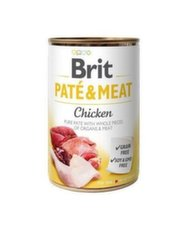 Konserv koertele BRIT CARE Chicken Pate&Meat 400 g