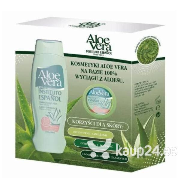 Komplekt Instituto Espanol Aloe Vera: kehakreem 500 ml + kehakreem 50 ml цена