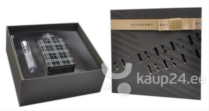 Комплект Burberry Brit for Men: edt 100 мл + мини цена и информация | Meeste lõhnad | kaup24.ee