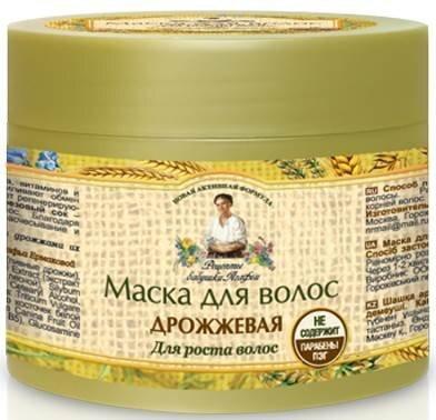 Juuste kasvu soodustav mask Recepty Babuški Agafji 300 ml цена и информация | Maskid, õlid, seerumid | kaup24.ee