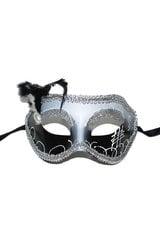 Венецианская маска с пером