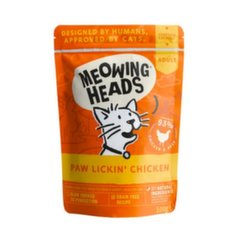 Meowing Heads Wet Paw Lickin' Chicken 100 g