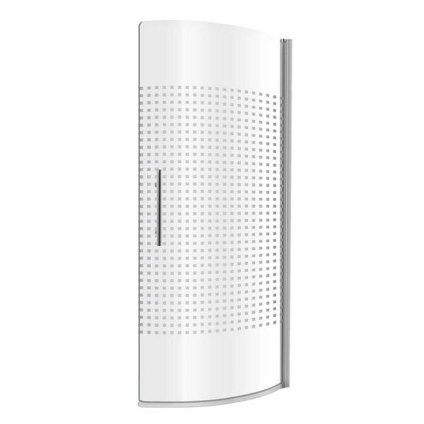 Mobiilne vannitoa klaassein Kerra Aphrodyta hind ja info | Lisatarvikud vannidele | kaup24.ee