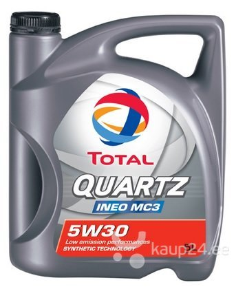 TOTAL Quartz INEO MC 3 5W-30 mootoriõli 5l цена и информация | Mootoriõlid | kaup24.ee