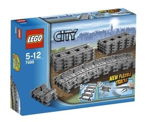 7499 LEGO® CITY Flexible and Straight Tracks