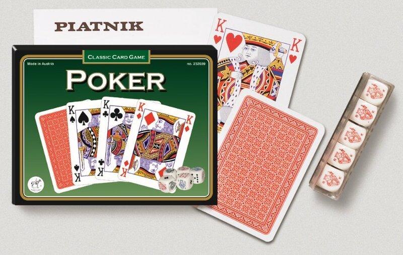 Карты для покера и кости цена и информация | Hasartmängud, pokker | kaup24.ee