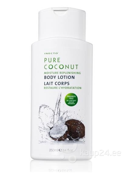 Ihupiim Inecto Pure Coconut 250 ml цена и информация | Kreemid ja ihupiimad | kaup24.ee