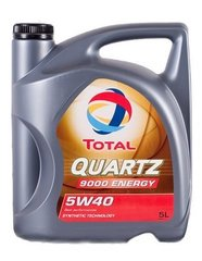 TOTAL Quartz 9000 ENERGY 5W-40 mootoriõli 5l