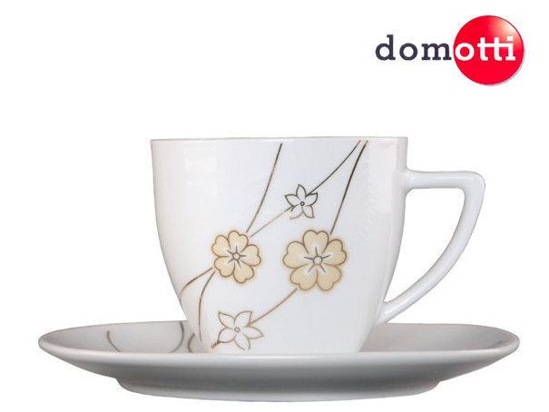 Кофейный сервиз Domotti Girland, 12 частей цена и информация | Klaasid, tassid ja kannud | kaup24.ee