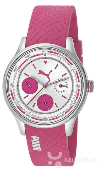Часы Puma Wheel Multifunction - S Pink цена и информация | Naiste käekellad | kaup24.ee