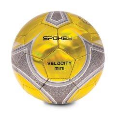 Jalgpall Spokey Velocity mini, kollane