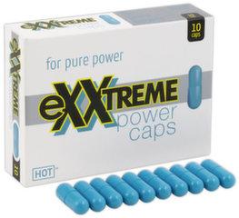 Potentsi suurendav preparaat Exxtreme Power Caps, 10 tk
