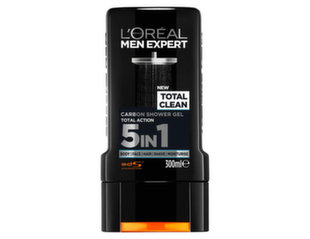 Dušigeel L'Oreal Paris Men Expert Shower Gel Total Clean meestele 300 ml