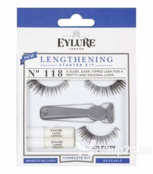 Kunstripsmed Eylure Lengthening No. 118, Starter Kit