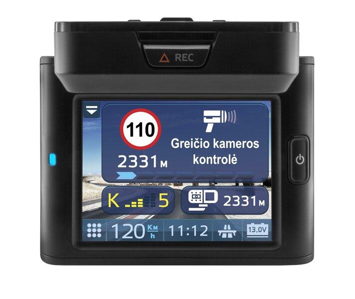 Videokaamera - radari detektor koos välise vastuvõtjaga Neoline X-COP R750 + kingitus ultraheliandur/loomade jaoks + 32GB mälukaart