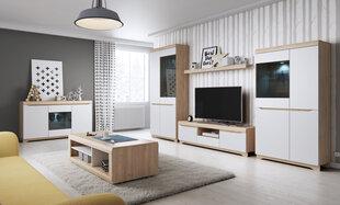 Elutoamööbli komplekt Avallon, pruun/valge hind ja info | Elutoamööbli komplekt Avallon, pruun/valge | kaup24.ee