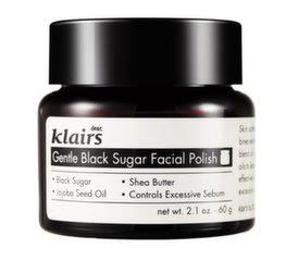 Näokoorija musta suhkruga Klairs Gentle Black Sugar Facial Polish 110 g