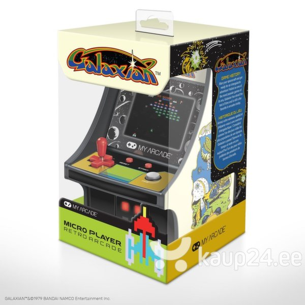 Arkaadmäng dreamGEAR Retro Galaxian Micro Player tagasiside