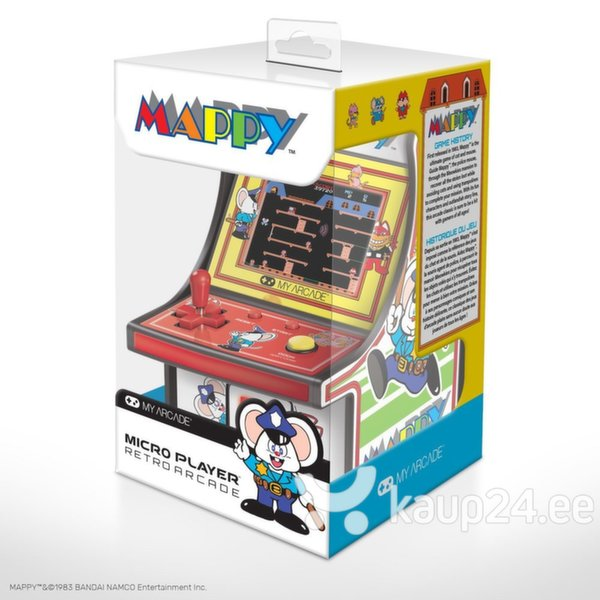 dreamGEAR Retro arkaadmäng Mappy Micro Player tagasiside