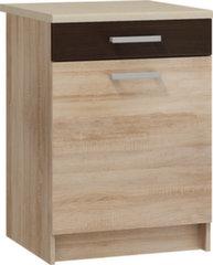 Köögikapp Polo 2 S60_1SZ, värvus tamm/pruun hind ja info | Köögikapp Polo 2 S60_1SZ, värvus tamm/pruun | kaup24.ee