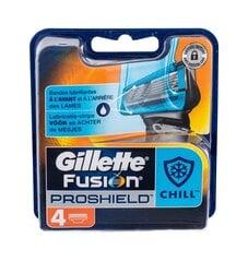 Raseerimispead Gillette Fusion Proshield Chill 4 tk. hind ja info | Raseerimisvahendid | kaup24.ee