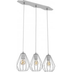 Rippvalgusti TK Lighting Brylant Gray 2229