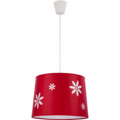 Rippvalgusti TK Lighting Flora Red