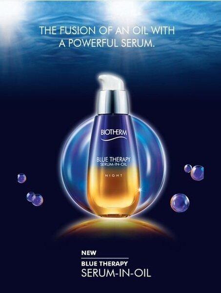 Taastav ööseerum õli baasil Biotherm Blue Therapy Serum-in-oil Night 50 ml