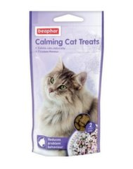 Hõrk maius kassile Beaphar Calming Cat Treats, 35 g