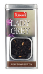 Gurman's Lady Grey, must aromaatne tee, 70 g