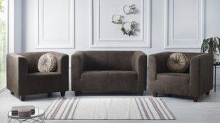 Комплект мягкой мебели BoboChic Django III, темно-коричневый