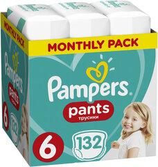 Подгузники-трусики PAMPERS Pants ,размер 6, 15+ кг, 132 шт