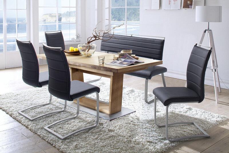 Комплект из 2 стульев Pescara, серый интернет-магазин