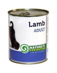 Konserv koertele Nature's Protection lambalihaga, 800 g hind ja info | Konservid koertele | kaup24.ee