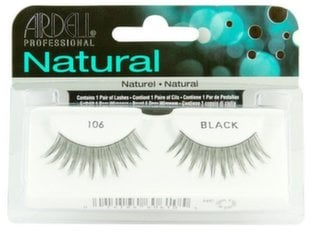 Kunstripsmed Ardell Natural 106 Black