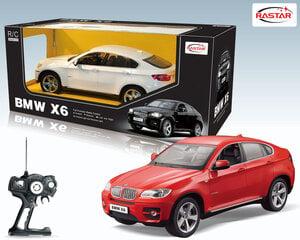 Juhitav mudelauto Rastar 1:14 BMW X6 31400 hind ja info | Poiste mänguasjad | kaup24.ee