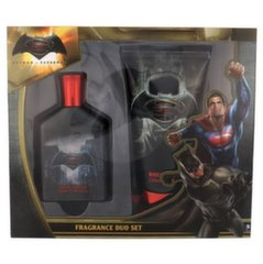 DC Comics komplekt: parfüümvesi 75 ml + dušigeel 150 ml Batman v Superman 75 ml