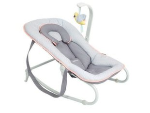 Lamamistool Babymoov Bouncer Graphik Peach A012432