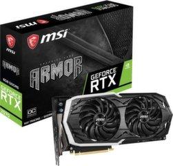 MSI GeForce RTX 2070 ARMOR 8G OC 8GB GDDR6 (256 Bit), HDMI, 3xDP, USB-C, BOX (RTX 2070 ARMOR 8G OC)