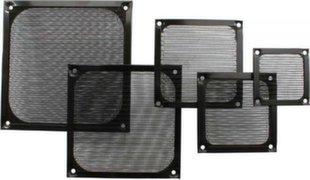 InLine Fan Grill Aluminum Filter 80x80mm black (33378S)