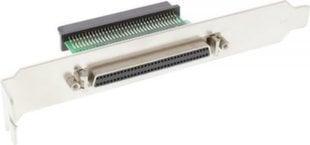 InLine SCSI III U320 Slot Bracket 68 Pin mini Sub-D female to female interior to exterior (45550)