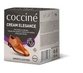 Neutraalset värvi jalatsite õli käsnaga Coccine Nr.01 Cream Elegance, 50 ml