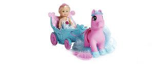 Nukk koos poni ja kaarikuga Sparkle Girlz Princess, 24385
