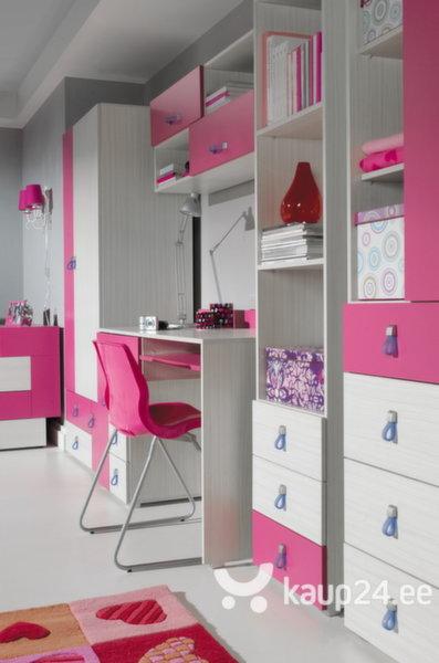 Kummut Komi 7, hall/roosa