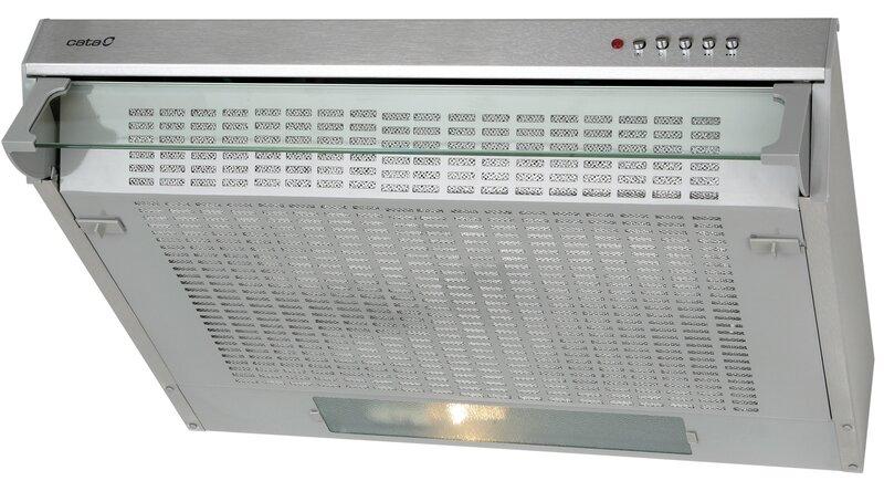 Вытяжка CATA F-2060 INOX цена и информация | Õhupuhastid | kaup24.ee