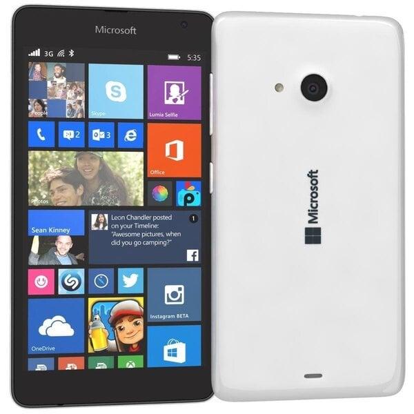 Microsoft 535 Lumia White (Белый) цена и информация | Mobiiltelefonid | kaup24.ee