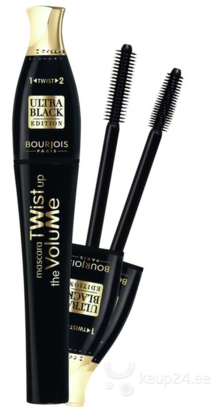 Ripsmetušš Bourjois Twist Up The Volume Ultra Black