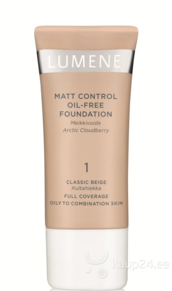 Тональный крем Lumene Matt Control Oil Free 30 ml цена и информация | Näole | kaup24.ee