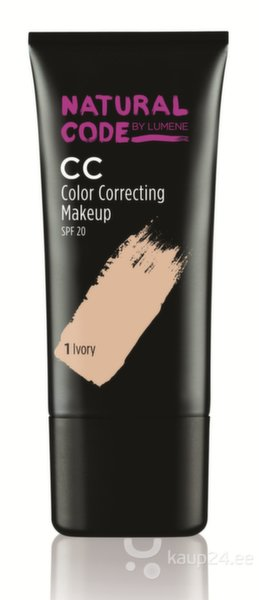 Тональный крем Lumene Natural Code CC Color Correcting SPF20 25 ml